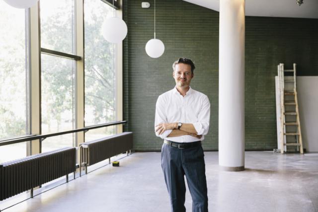 Der neue Direktor der Urania Berlin: Ulrich Weigand / Bild: Hanna Becker