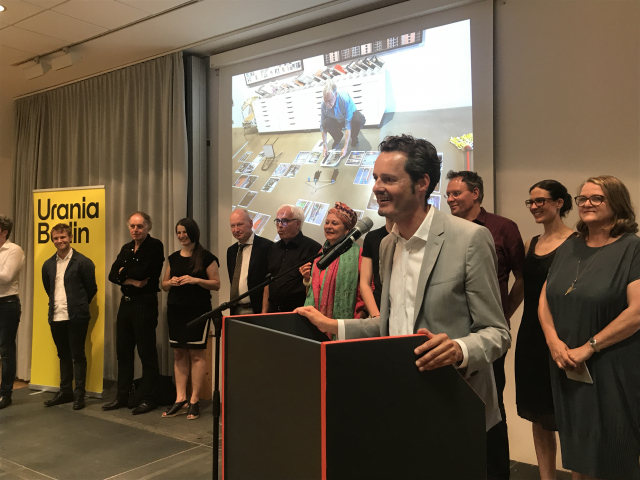 Ausstellungseröffnung von Life in Cities am 14.6.2019 in der Urania Berlin