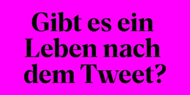 Tweet der Urania Berlin zur Veranstaltung mit Robert Habeck